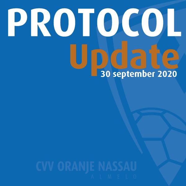 Protocol met ingang van 29-09-2020