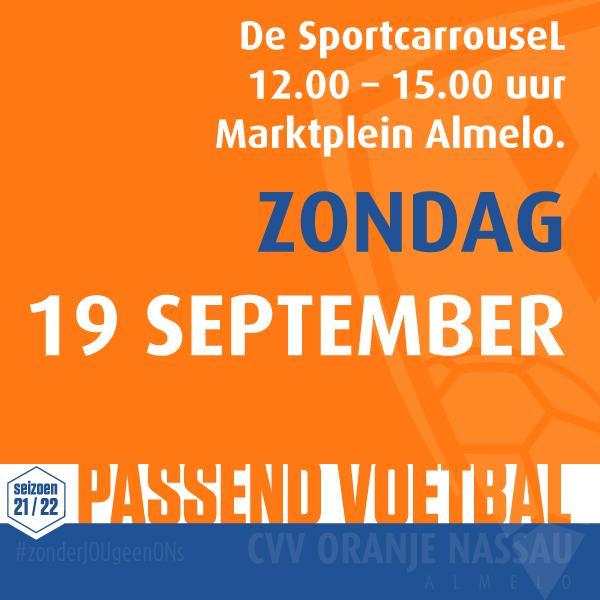 De Sportcarrousel - Passend Voetbal