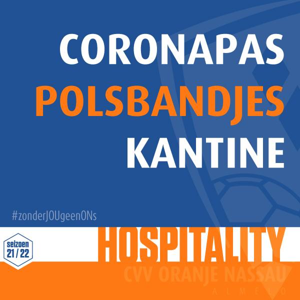Coronapas - Polsbandjes